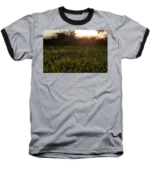 A Field Of Jewels Baseball T-Shirt