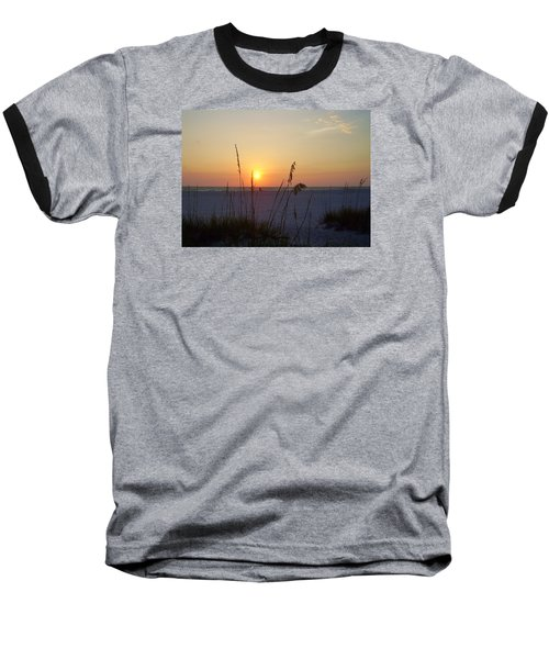 A Florida Sunset Baseball T-Shirt