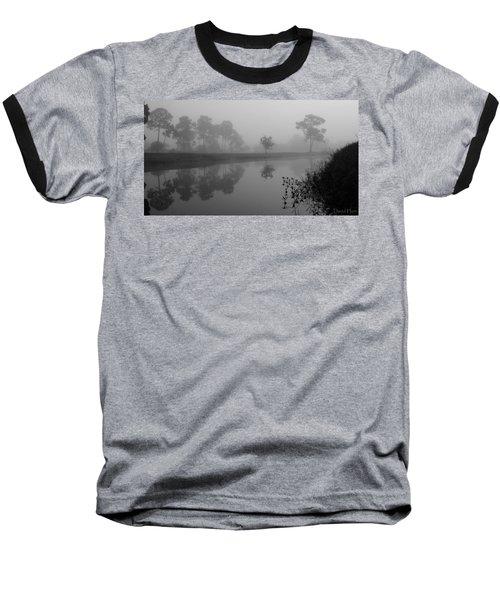 A Foggy Morning Baseball T-Shirt