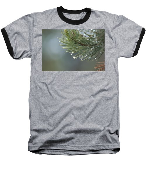 A Foggy Morning  Baseball T-Shirt