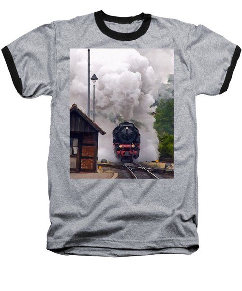 A Full Head Of Steam Baseball T-Shirt