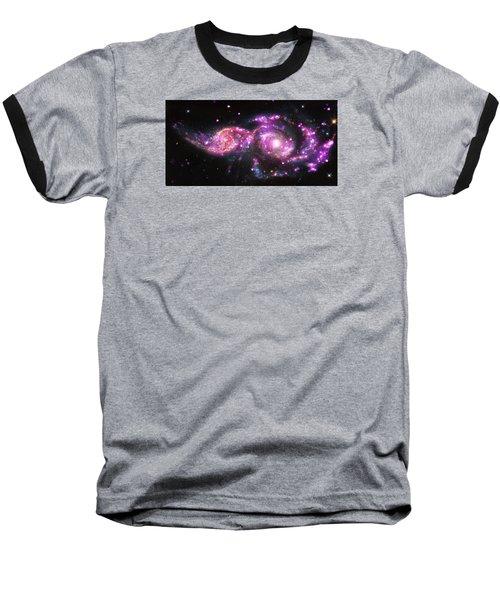 A Galactic Get-together Baseball T-Shirt by Nasa