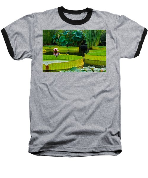 A Garden In Gentle Waters Baseball T-Shirt