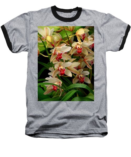 Baseball T-Shirt featuring the photograph A Gathering by Rodney Lee Williams