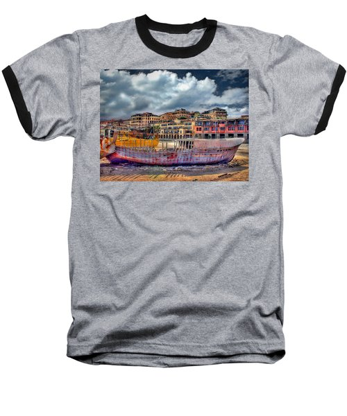 A Genesis Sunrise Over The Old City Baseball T-Shirt