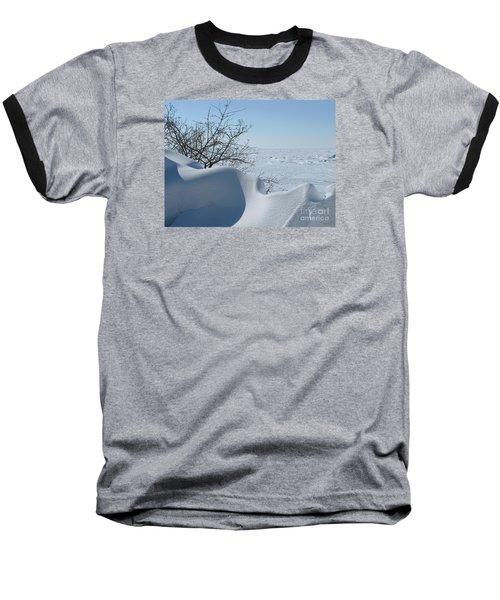 A Gentle Beauty Baseball T-Shirt by Ann Horn