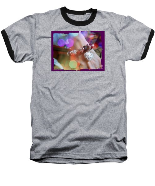 A Gift Baseball T-Shirt by Leanne Seymour