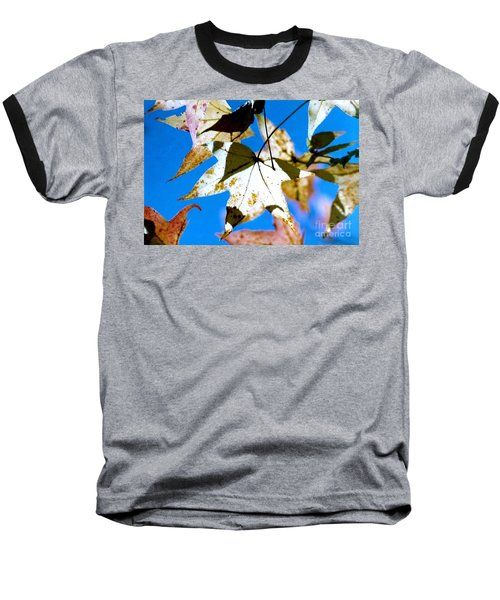 Baseball T-Shirt featuring the photograph Autumn  In New Orleans Louisiana by Michael Hoard