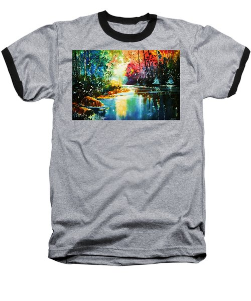 A Glow In The Forest Baseball T-Shirt