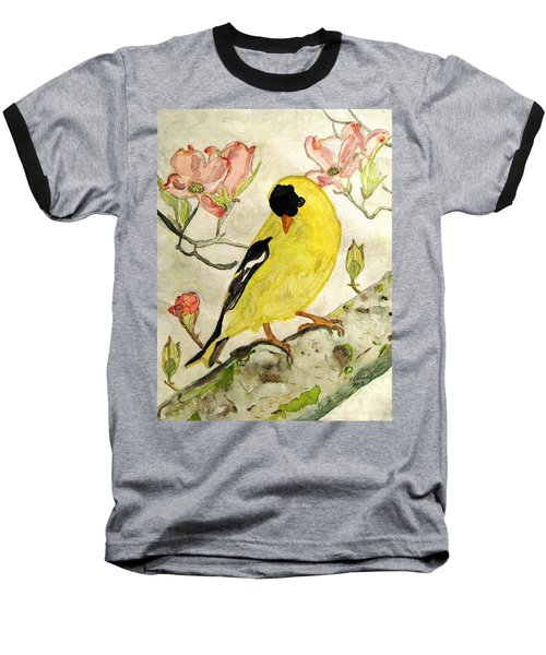 A Goldfinch Spring Baseball T-Shirt