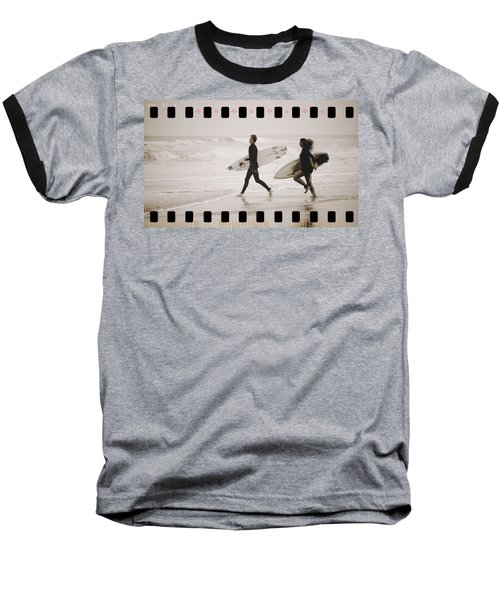 Baseball T-Shirt featuring the photograph A Good Day To Surf by Alice Gipson