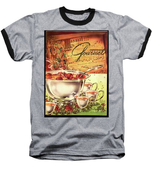 A Gourmet Cover Of Apples Baseball T-Shirt