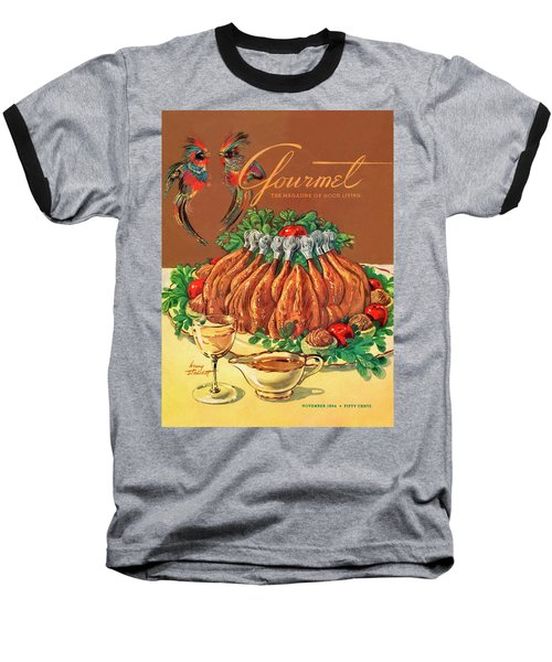 A Gourmet Cover Of Chicken Baseball T-Shirt