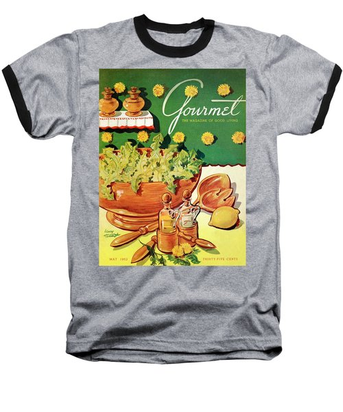 A Gourmet Cover Of Dandelion Salad Baseball T-Shirt