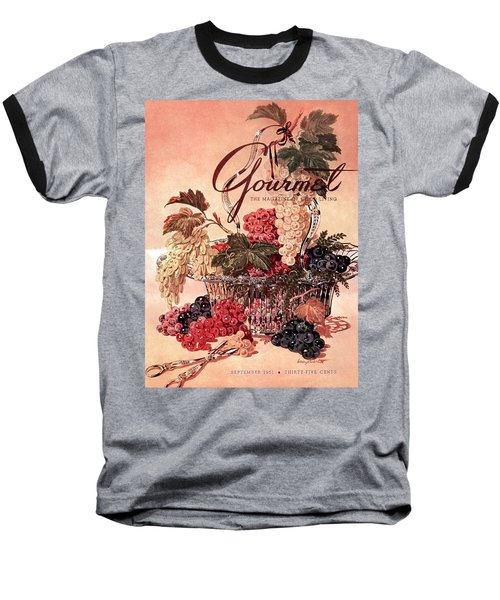A Gourmet Cover Of Grapes Baseball T-Shirt