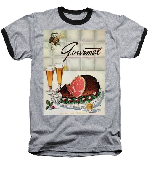 A Gourmet Cover Of Ham Baseball T-Shirt