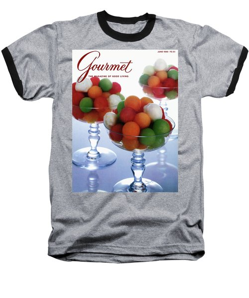 A Gourmet Cover Of Melon Balls Baseball T-Shirt