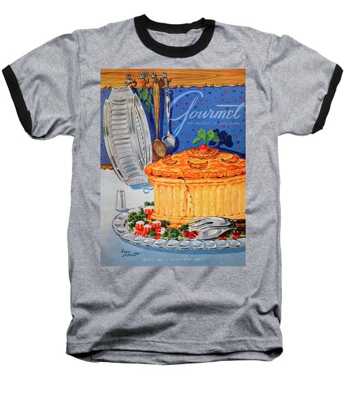 A Gourmet Cover Of Pate En Croute Baseball T-Shirt