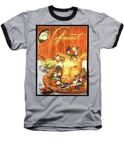 A Gourmet Cover Of Tete De Veau Baseball T-Shirt
