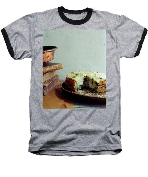 A Gourmet Torte Baseball T-Shirt by Romulo Yanes