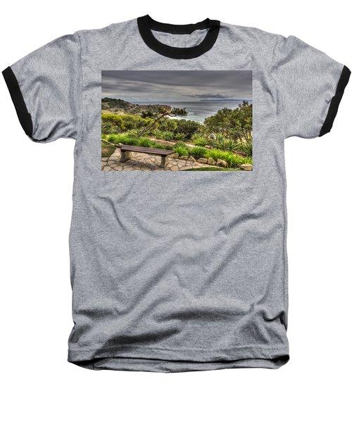 A Grand Vista Baseball T-Shirt by Heidi Smith