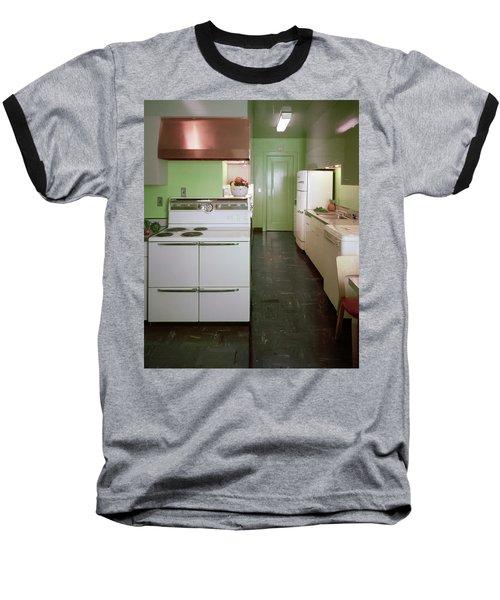 A Green Kitchen Baseball T-Shirt