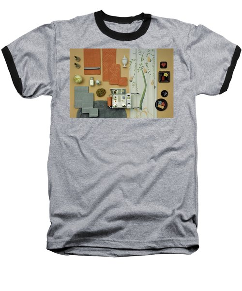 A Group Of Household Objects Baseball T-Shirt