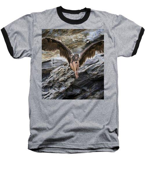 A Guardian Angel Baseball T-Shirt