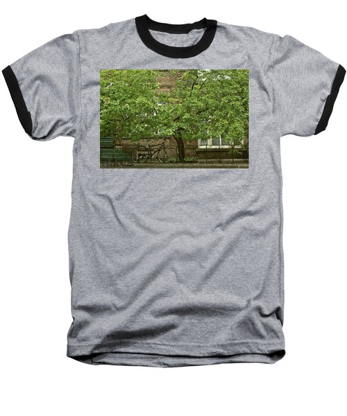 A Guardian In The Rain Baseball T-Shirt