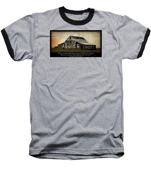 A Handful Of Aggies Baseball T-Shirt by Stephen Stookey