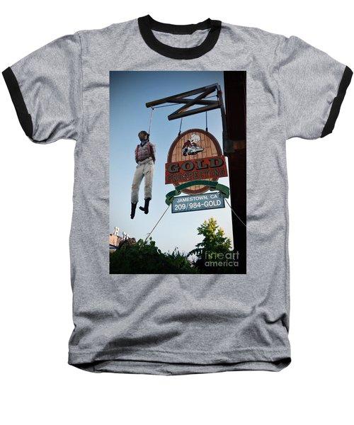 A Hanged Man In Jamestown Baseball T-Shirt