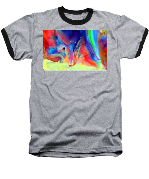 A Higher Frequency Baseball T-Shirt by Joyce Dickens