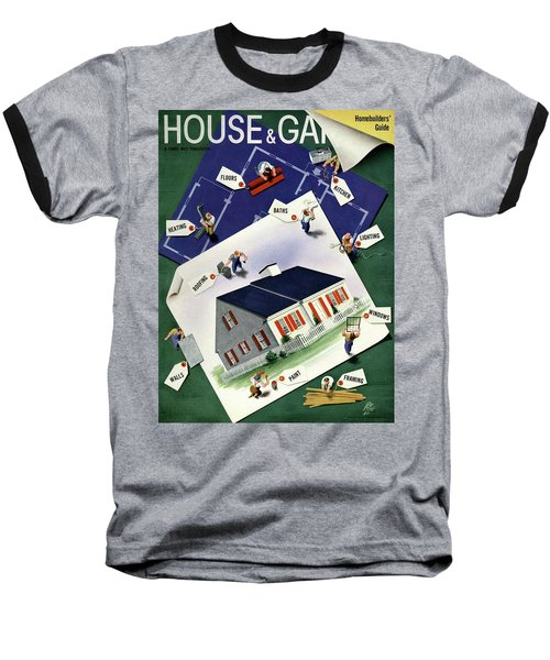 A House And Garden Cover Of A House Baseball T-Shirt