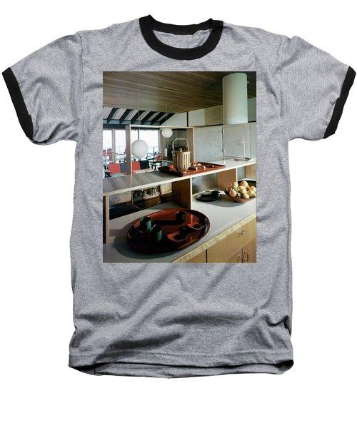 A House At Quantuck Bay Baseball T-Shirt