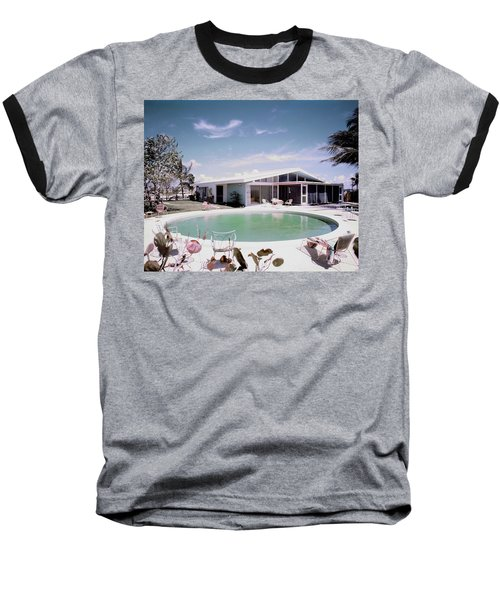 A House In Miami Baseball T-Shirt