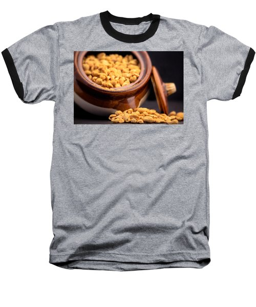 A Jar Of Peanuts Baseball T-Shirt