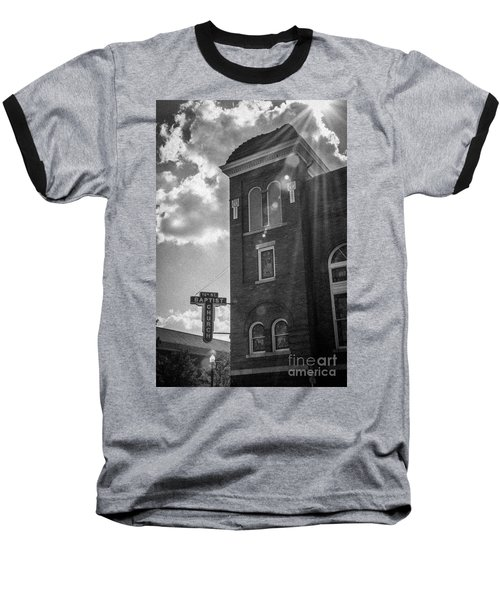 A Light Shines Down Baseball T-Shirt