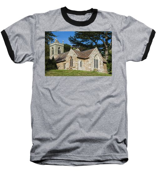 A Little Church In Warwickshire Baseball T-Shirt by Linsey Williams