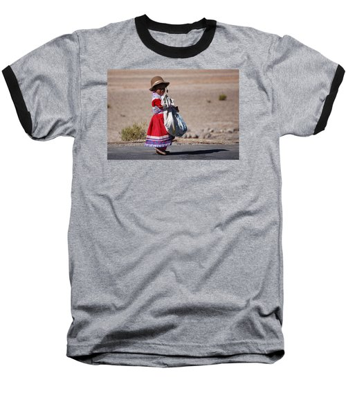 A Little Girl In The  High Plain Baseball T-Shirt