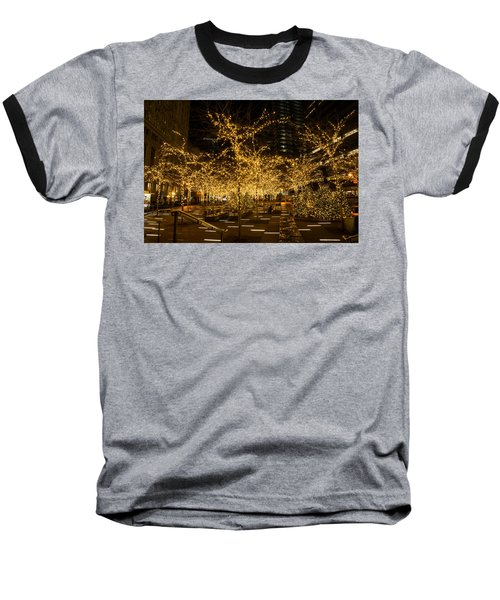 A Little Golden Garden In The Heart Of Manhattan New York City Baseball T-Shirt
