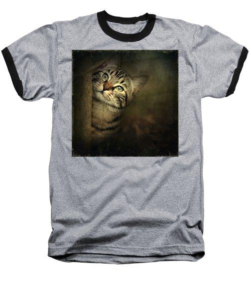 A Little Shy Baseball T-Shirt