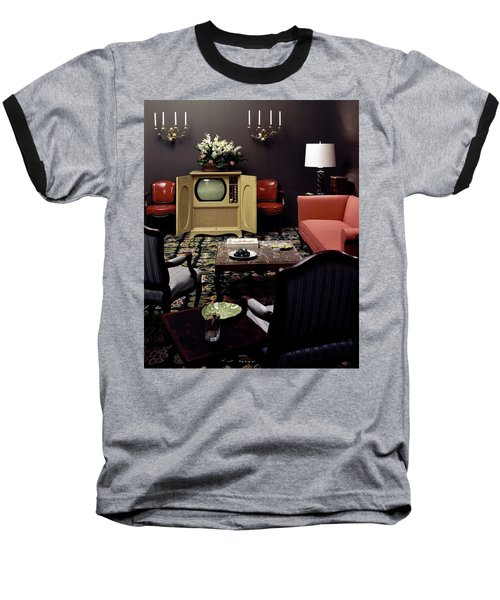A Living Room Baseball T-Shirt