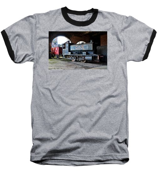 A Locomotive At The Colliery Baseball T-Shirt by RicardMN Photography