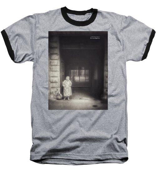 Baseball T-Shirt featuring the photograph A Long Boring Wait... by Stwayne Keubrick