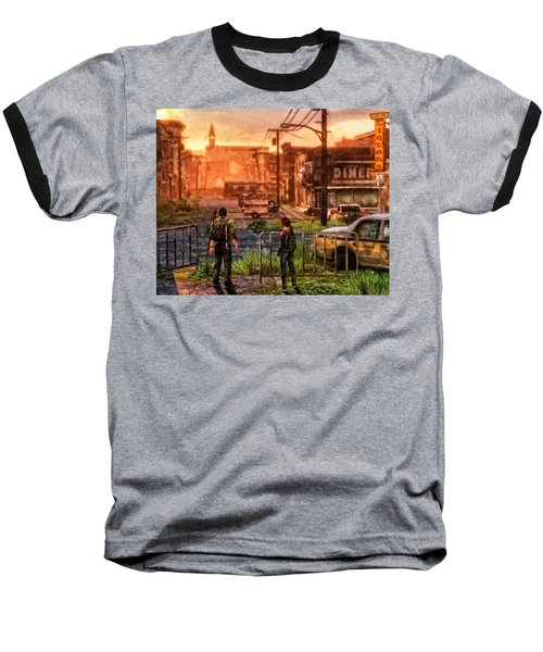 A Long Journey Baseball T-Shirt by Joe Misrasi