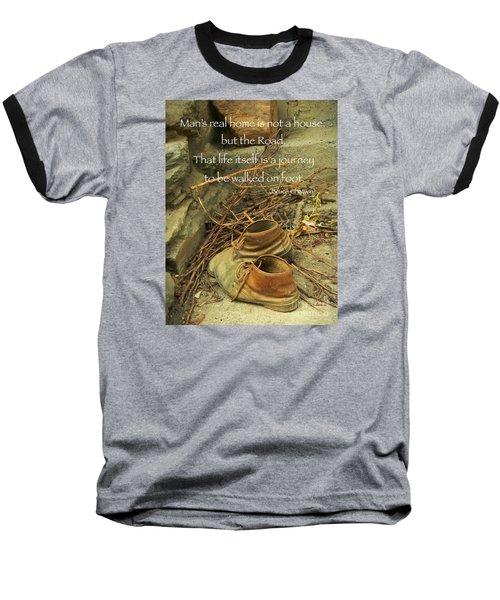 A Long Way Baseball T-Shirt