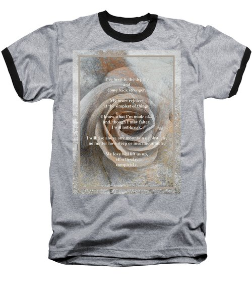 Baseball T-Shirt featuring the photograph A Love Poem And Photograph by Brooks Garten Hauschild
