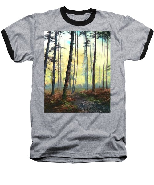 A Lovely Walk On Cannock Chase Baseball T-Shirt by Jean Walker