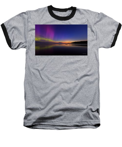 A Majestic Sky Baseball T-Shirt by Everet Regal