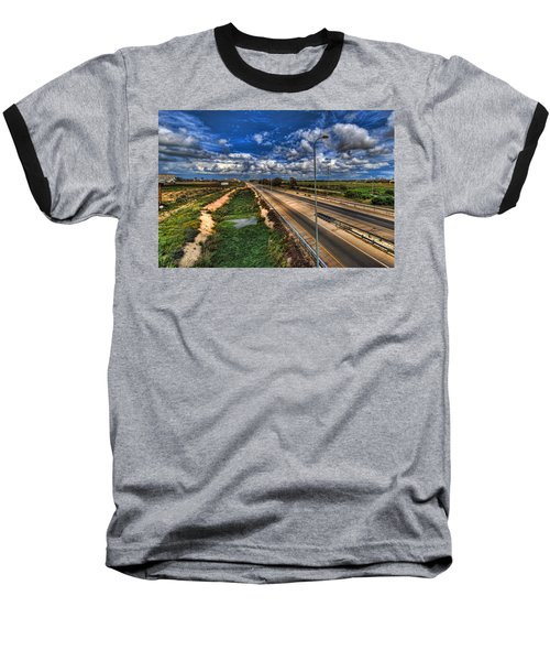 Baseball T-Shirt featuring the photograph a majestic springtime in Israel by Ron Shoshani